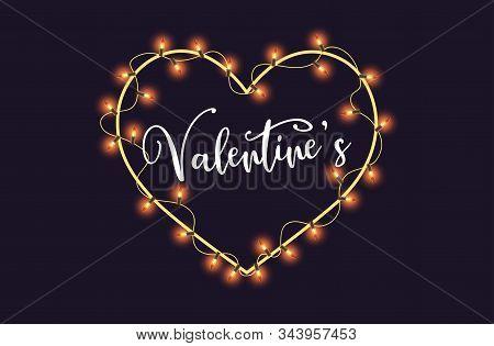 Valentine, Valentine Day, Valentines Background, Valentines Day With Heart On Brown Background, Vale