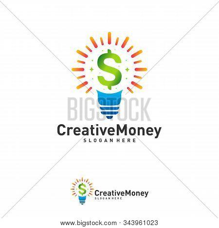 Bulb Icon Money Logo Vector Photo Free Trial Bigstock