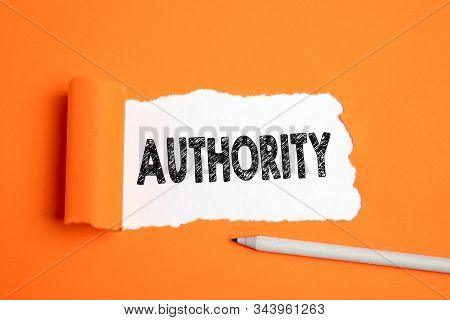 Authority. Politics, Influence, Knowledge, Boss And Money Concept