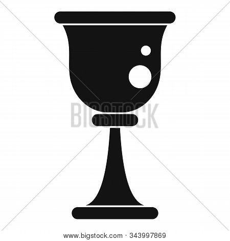 Prayer Cup Icon. Simple Illustration Of Prayer Cup Vector Icon For Web Design Isolated On White Back