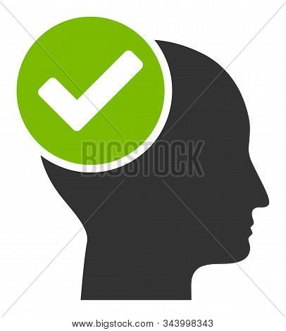 Advised Vector Icon. Flat Advised Pictogram Is Isolated On A White Background.