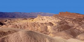 Beautiful Vista From Zabirskie Point, Death Valley National Park, California.