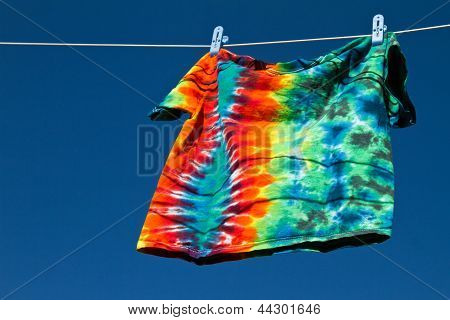 Shirt On Clothesline
