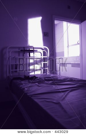Empty Hospital Bed  Psychiatric 2
