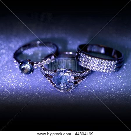 Golden Jewelry Accessories Rings