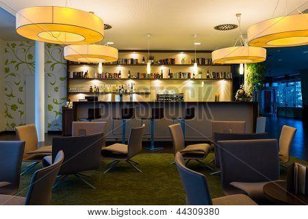 nice hotel lounge bar