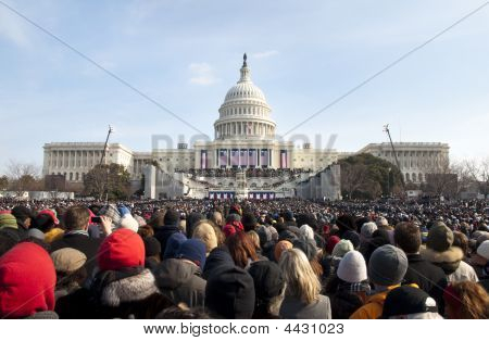 Obama Inauguration At U.s. Capitol