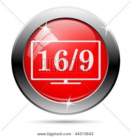 16 9 Icon