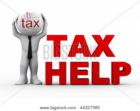 3D Man Tax Help