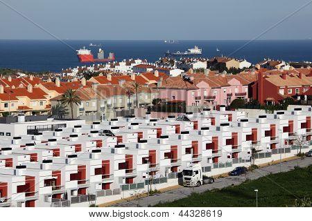 Urbanisation In Algeciras. Spain