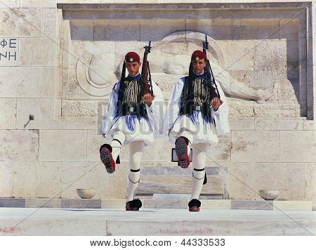 Guard Change Ceremony, Athens