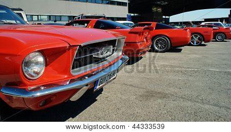 American cars show