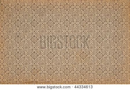 Background With Damask Patterns