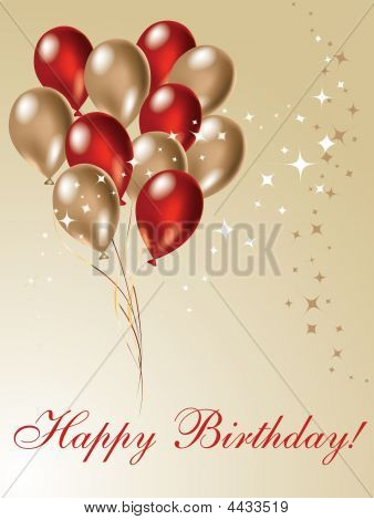 Nice picture for your birthday design decoration poster