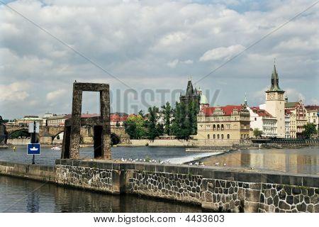 On Kampa Vltava River