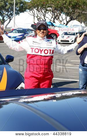 LOS ANGELES - APR 9:  Wanda Sykes at the Toyota ProCeleb Race Press Day 2013 at the Toyoto Grand Prix Circuit on April 9, 2013 in Long Beach, CA