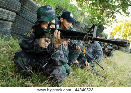 Military scouts training