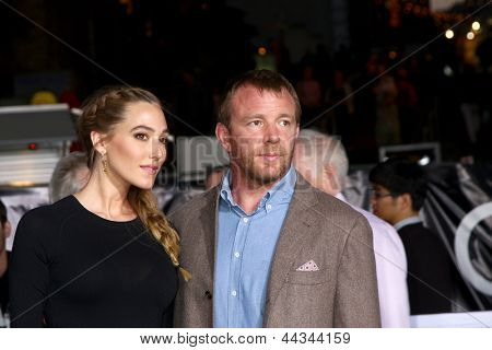 LOS ANGELES - APR 10:  Guy Ritchie arrives at the