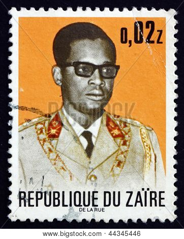 Postage Stamp Zaire 1973 Joseph D. Mobutu, President