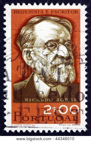 Postage Stamp Portugal 1966 Ricardo Jorge, Hygienist And Anthrop