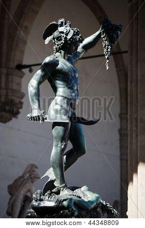 Florence - Piazza della Signoria Perseus with the Head of Medusa