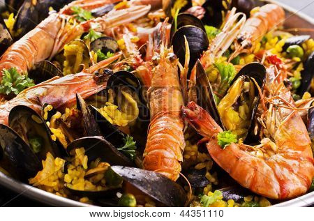 seafood paella