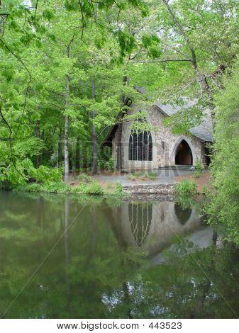 Chapel And Lake