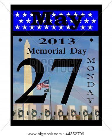 memorial day date