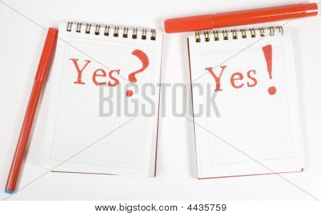 Two Open Notebook