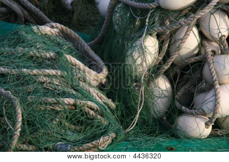 Buoys And Netting