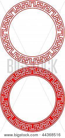 Chinese Circle Ornament