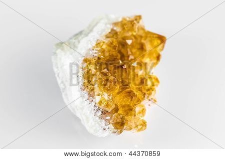 Citrine Quartz Rock