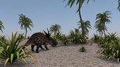 einiosaurus osant terrain poster
