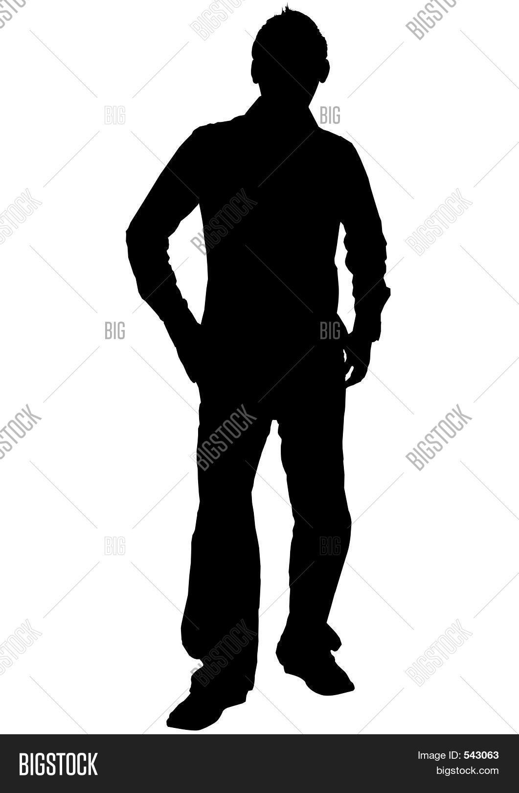 Male Silhouette Image & Photo (Free Trial) | Bigstock