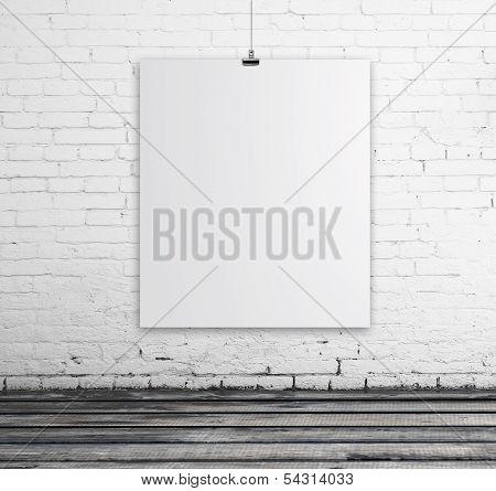 Poster In Brick Room