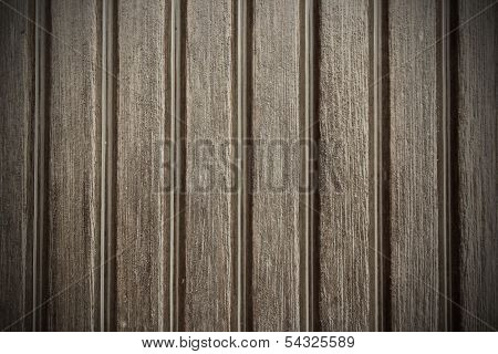 Grooved Wooden Plank Texture Detail