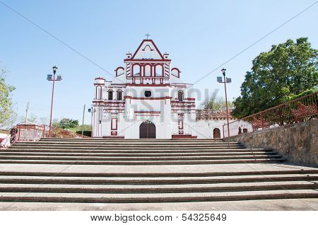 Church In Chiapa De Corzo, Mexico