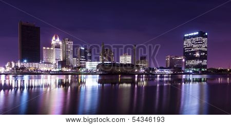 City Lights Skyline