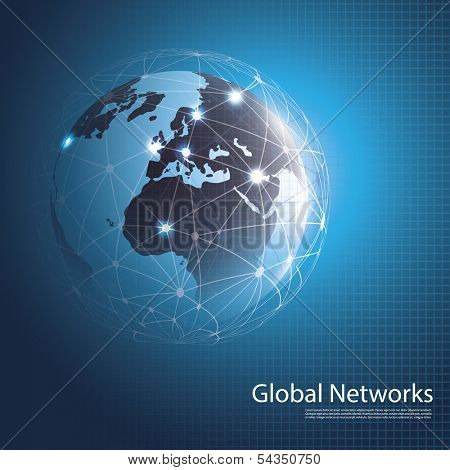 Global Networks | Eps 10 Vector for Your Business