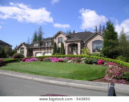 Upscale House