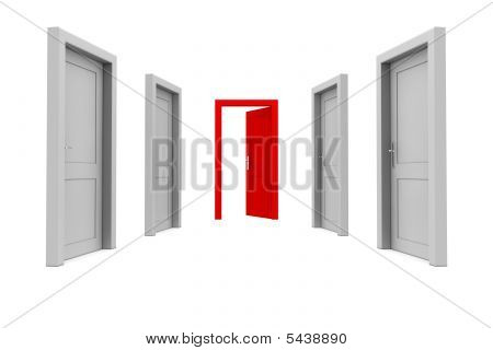 Take The Red Door