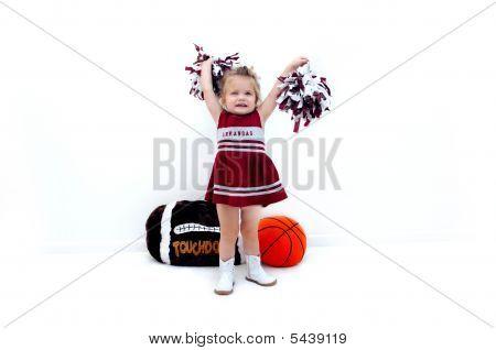 Adoring Arkansas Fan