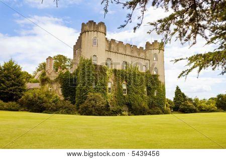 Irish Medieval Castle At Malahide, In Dublin