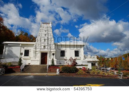 Indian temple in America
