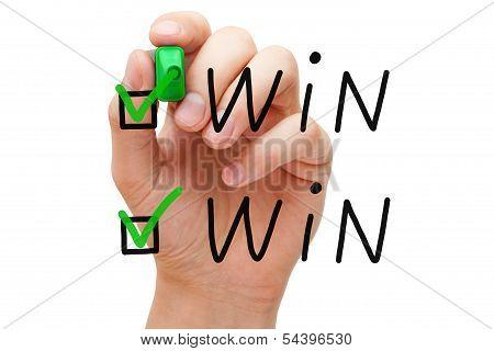 Win-Win-Häkchen