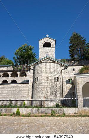 Orthodox monastery in Cetinje, Montenegro.