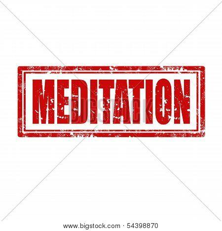 Meditation-stamp
