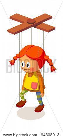 vector icon marionette