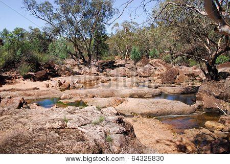 A Creek In Gondabooka National Park