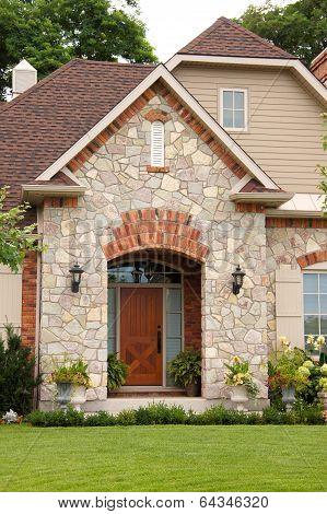 Home Entrance Wood Door